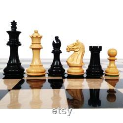 3.5 Staunton Chess Pieces Only Set Fierce Knight Series