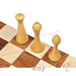 3.6 Herman Ohme Jeux d échecs minimalistes Seulement ensemble- Pondéré Rosewood d or