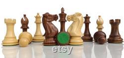 4.1 and 3.5 Professional Staunton Chess Pieces Only- 2 EXTRA Queens Joueurs d échecs en bois fabriqués à la main jeu d échecs pondéré-Taj Chess Store