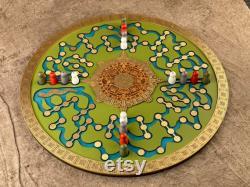 Atoyac Jeu aztèque de la chasse Un merveilleux jeu de stratégie et d habileté, fait à la main par l artiste