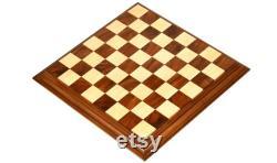 Bel échiquier de luxe Sheesham Wood Box Wood 21 56 mm SKU M0084