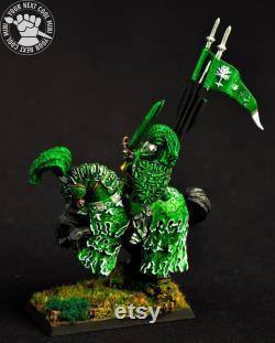 CUSTOM ORDER Warhammer FB T9A AoS The Green Knight