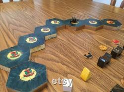 Catan Cities and Knights 2-4 joueur personnalisé 1 hexagone gratuit