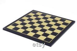 Chess Board taille carrée 2.5 X 2.5 dans Maple and Ebony chercher 4,25 à 4,4 Jeu d échecs