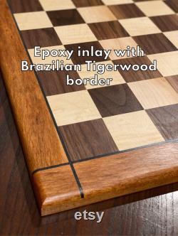 Échiquier en bois personnalisé
