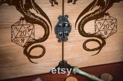 Écran en bois pour le jeu de rôle, écran principal de donjon, jeux de dessus de table, écran de dragon