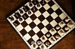 Ensemble d échecs en bois personnalisé 18 , personnalisation gratuitement, cadeau d anniversaire parfait, livraison express gratuite