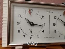 Horloge d échecs soviétique Jantar (Yantar), horloge mécanique vintage cadeau de travail