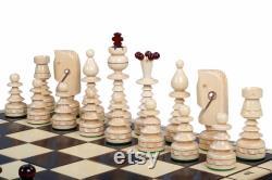 Jeu d échecs en bois, Bois de plateau de jeu, Échecs faits main, Échiquier avec l espace de stockage, Bois sculpté à la main d échecs, Grand échiquier pliant