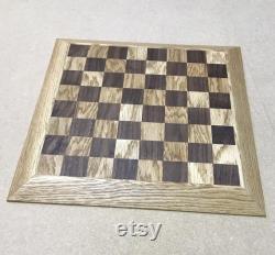 Jeu d échecs planche et morceaux faits à la main