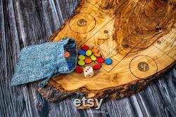 Ludo Jeu rustique Planche en bois d olivier, Parcheesi en bois d olivier Conception d auteur fait à la main, Jeu de société Aggravation, Jeu de table en bois Ludo Jeux de société