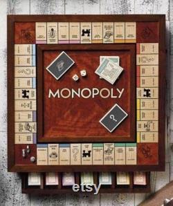 Monopoly Wooden Board