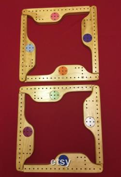 PEGS JOKERS Jeu de 8 Joueurs Solid Wood