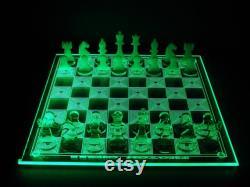 PHOTON CHESS LED Glowing Chessboard 13 x 13 Une ou deux couleurs