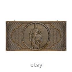 PRÊT À EXPÉDIER Arménien Handmade Backgammon Spartacus Set Board Game Hand sculpté dans le bois de noyer naturel, Nardy, Cadeau pour lui