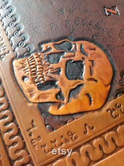 Planche à alcool ouija en cuir personnalisée et planchette à outils