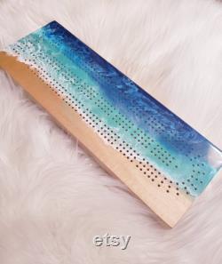 Planche de cribbage d océan