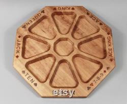 Plateau de jeu Personnalisé Wood Rummoli