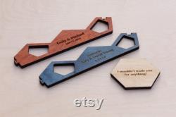 Plateau de jeu en bois Bois dur exotique 3-4 ou 3-6 Player, Laser Cut, Personnalisé