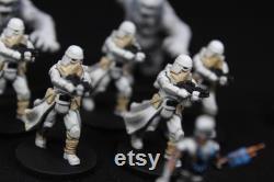 Retour agression impériale à Hoth Elite peint