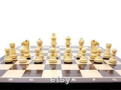 Ringy Rosewood Boxwood Chess Set Pieces Galaxy Staunton 3 avec 15 Wenge Wood Board 2 Extra Queens, 4 Extra Knights 2 Extra Pawns