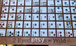 Séquence Game Board Personnalisé