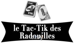 Tac-Tik 6 joueurs personnalisé jeu de société jeu en bois tactik