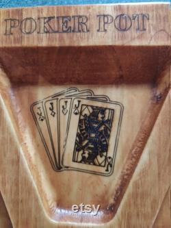 Tournant old fashioned CANADIAN RUMMOLI, Jeu de société familial, Bois sculpté, peint à la main, tournant autour. Plaisir en famille.