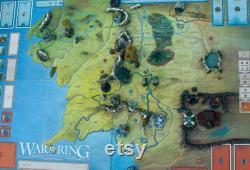 Ultimate War of the Ring ensemble de mise à niveau, Bastions, Montagnes ARGONATH miniatures exclusives PRÊT À JOUER