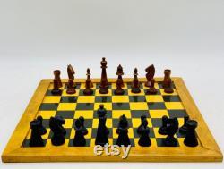 Vieux échecs art déco