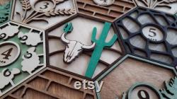 Wood Resource Tile Game Board 2-6 Joueurs
