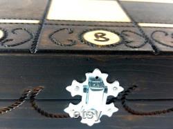 très grand grand 54 cm fabriqué à la main en bois jeu d échecs modèle ambasador, échiquier en bois, jeu d échecs sculpté en bois, grands échecs, gros échecs