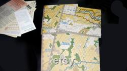 vintage (1977) Highway to the Reich Operation Market Garden jeu de société. Simulations Publications New York. Fabriqué aux Etats-Unis. Complet.